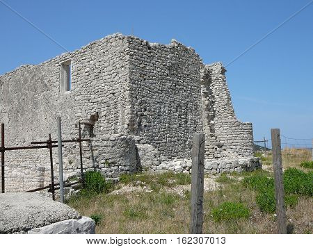 Ruins In The City Of Osor