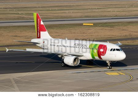Airbus A319 From Tap Air Portugal