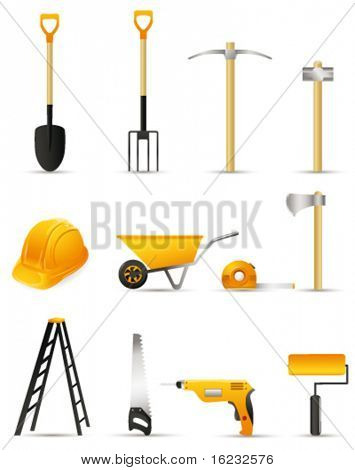 Tools. Vector