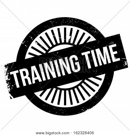 Training time stamp. Grunge design with dust scratches. Effects can be easily removed for a clean, crisp look. Color is easily changed.