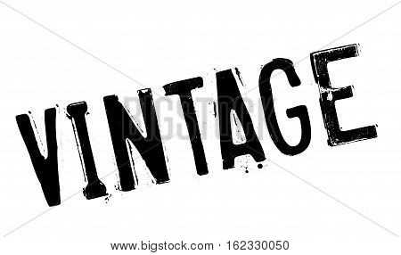 Vintage stamp. Grunge design with dust scratches. Effects can be easily removed for a clean, crisp look. Color is easily changed.