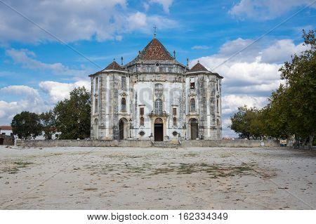 Santuario do Senhor Jesus da Pedra (Our Lord Jesus of the Stone Sanctuary) in Obidos Portugal