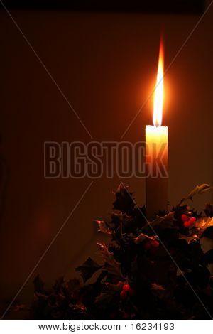 Christmas von Kerzenlicht
