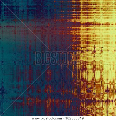 Old crumpled grunge background or ancient texture. With different color patterns: yellow (beige); brown; blue; red (orange); purple (violet); pink