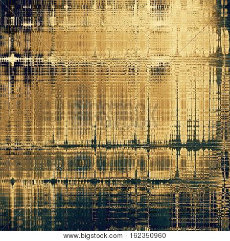 Distressed texture, faded grunge background or backdrop. With different color patterns: yellow (beige); brown; green; gray; blue