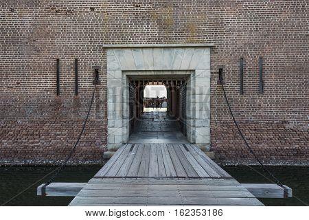 Draw Bridge at Fort Pulaski civil war monument