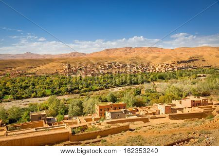 Valley Of The City Boumalne Dades, Morocco