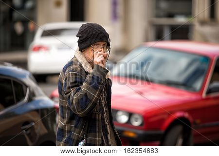 Candid Street Portrait