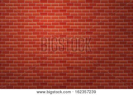 Brick wall texture vector illustration
