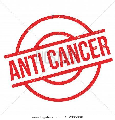 Anti Cancer rubber stamp. Grunge design with dust scratches. Effects can be easily removed for a clean, crisp look. Color is easily changed.