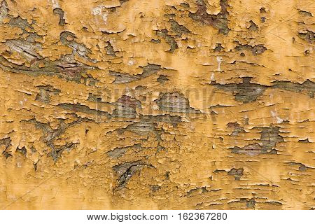 background texture from cracked paint on wood