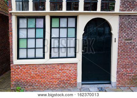 Historic Building In Hoorn, Netherlands