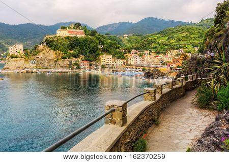 Monterosso Al Mare In The Cinque Terre, Italy