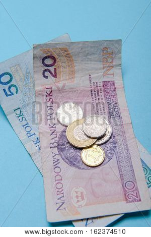 Polish Zloty In Notes And Coins