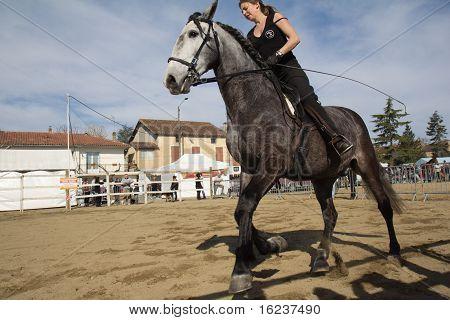 Female rider