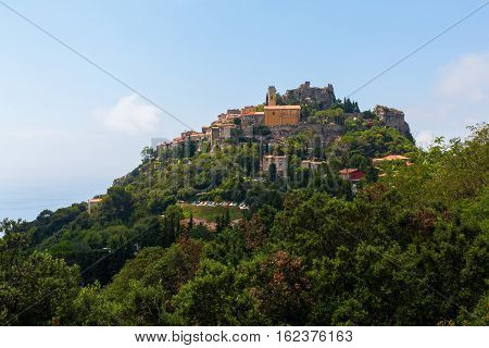 Mountain Village Eze In South France