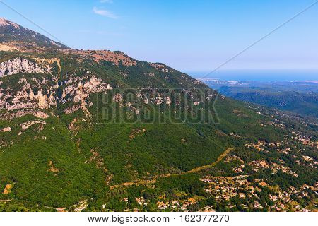 Landscape In The Alpes Maritimes, France