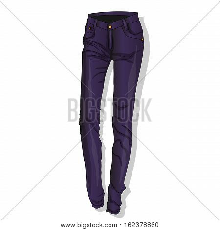 Trousers. Female's Clothes.
