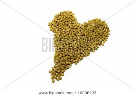 peas heart