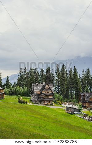 Hotel In The Mountains