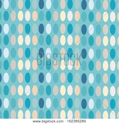 Ovals colorful abstract background. Vector illustration oval.