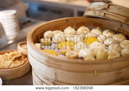 Assorted Chinese Buns