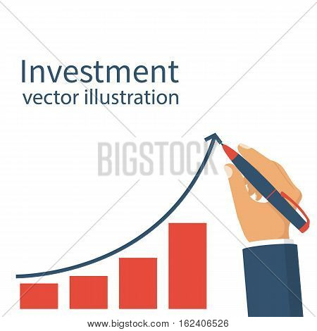 Investment Concept. Vector