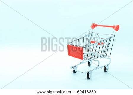single supermarket trolley or shopping cart for use with cargo or shopping in the supermarket and General Factory