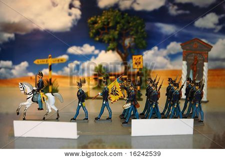 Austrian Toy Soldiers