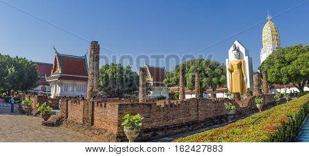 Wat Phra Si Rattana Mahathat or Wat Yai is a Buddhist temple in Phitsanulok Thailand