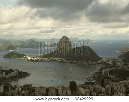 Dona Marta view point, Rio de Janeiro, Brasil