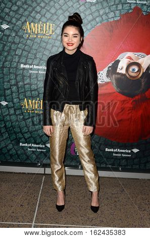 LOS ANGELES - DEC 16:  Landry Bender at the