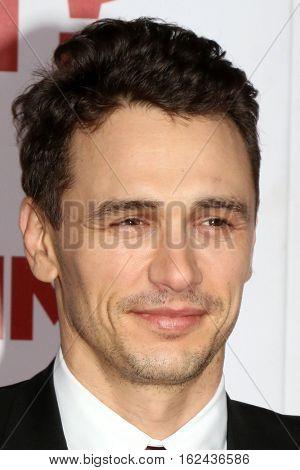 LOS ANGELES - DEC 17:  James Franco at the