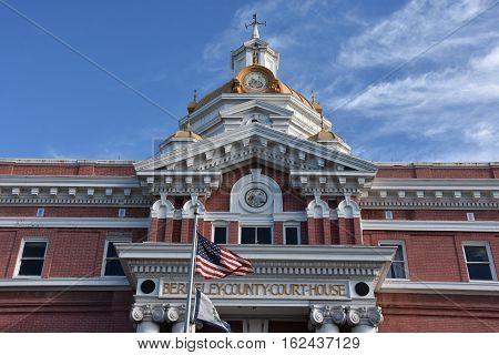 Berkeley County Courthouse in Martinsburg, West Virginia
