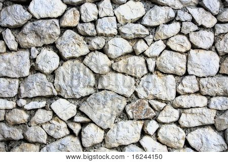 Wall Block Structure Texture Made Of Stones