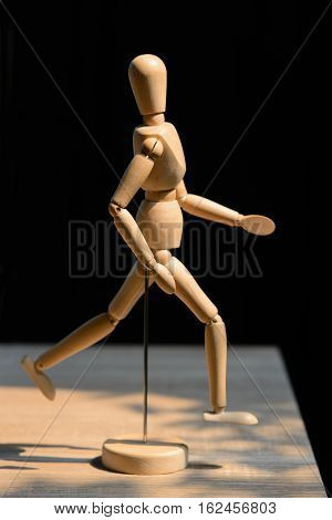 Wooden Dummy On Table