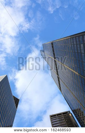 Chicago IL USA october 27 2016: Willis Tower in Chicago formerly known as Sears Tower