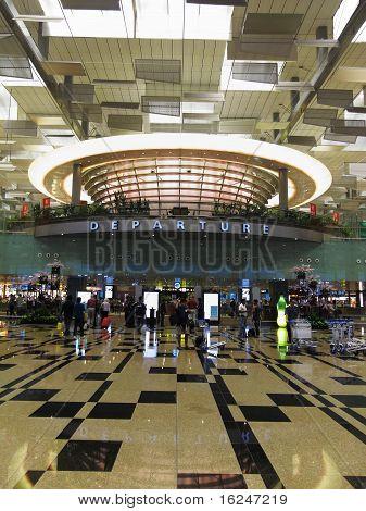 Terminal Three Departure Hall