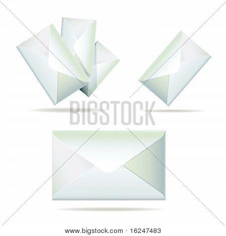 Set of simple envelope