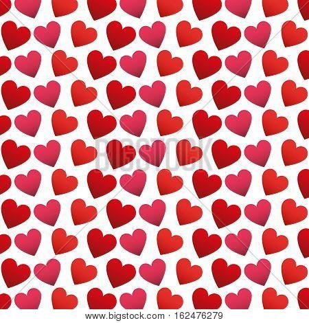 heart love pattern icon vector illustration design