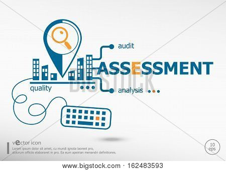Assessment And Marketing Concept