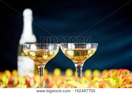 Champagne Sparkling Wine For Silvester Party