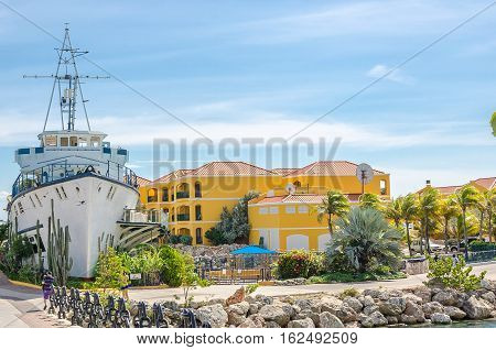 Curacao Sea Aquarium Entrance And Dolphin Academy