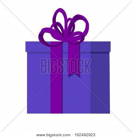 Flat vector illustration isolated with presents and gift boxes for Christmas holidays or Birthday.2017.New Year and Christmas presents illustration. Isolated gifts.Valentine's Day gifts illustration.