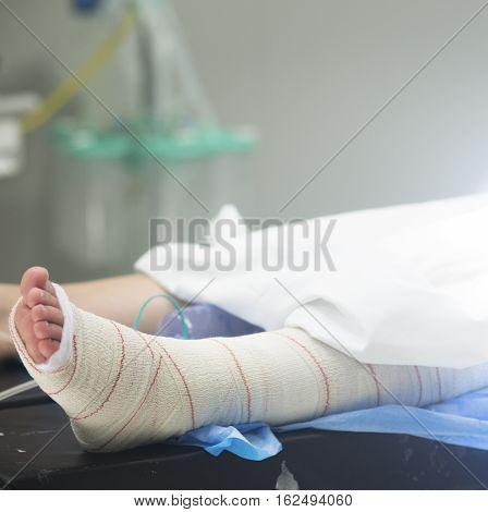 Hospital Surgery Patient