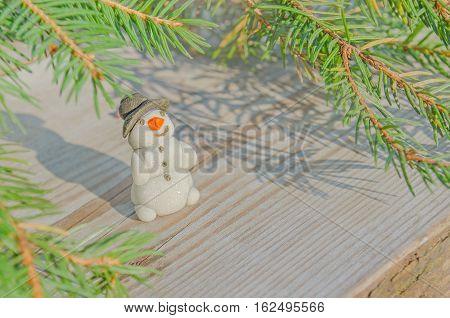 Christmas Handmade Snowman