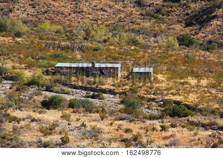 Historic Homer Wilson Ranch in Big Bend National Park, Texas
