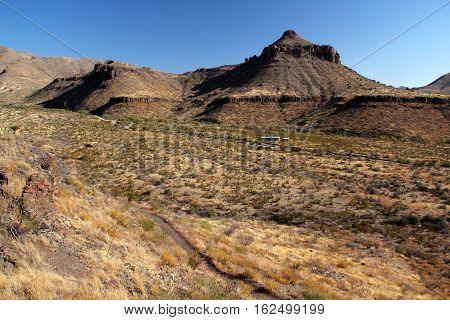 Historic Homer Wilson Ranch Landscape, Big Bend National Park, Texas