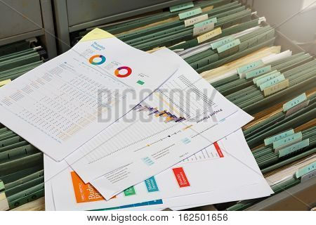 New report file in old filing cabinet