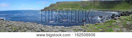 Giant's Causeway, County Antrim, Northern Ireland, UK